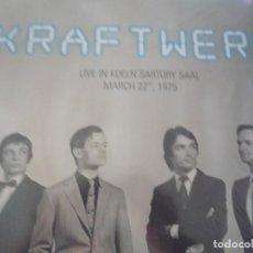 Disques de vinyle: KRAFTWERK-SARTORY SAAL--1975-LP -LIVE. Lote 215541826