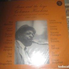 Discos de vinilo: BEAN AND THE BOYS COLEMAN HAWKINS (1940-65 1988-BEAN EDITADO ITALIA SIN SEÑALES DE USO. Lote 215544897