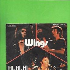 Discos de vinilo: WINGS HI, HI, HI, EMO ODEON J 006 - 05.208. Lote 215547151