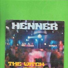 Discos de vinilo: HENNER THE WITCH, ZAFIRO TELEFUNKEN OOX - 224. Lote 215549013