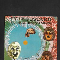 Discos de vinilo: UGLY CUSTARD UNDERGROUND MODE, PUSSY IBEROFON N. 201.012 RARISIMO. Lote 215561648