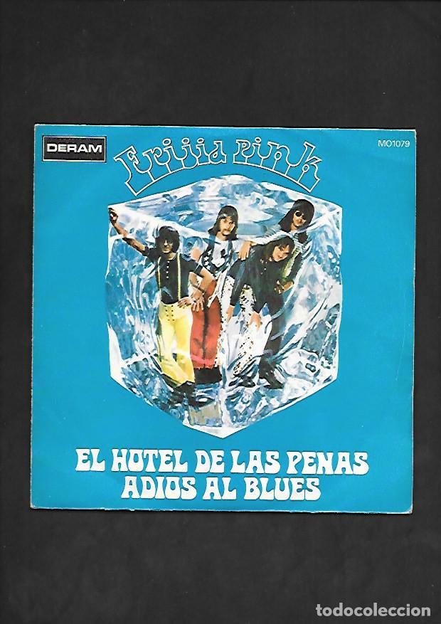 FRIJID PINK EL HOTEL DE LAS PENAS, DERAM MO 1079 (Música - Discos - Singles Vinilo - Pop - Rock - Internacional de los 70)