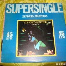 Discos de vinilo: STEVIE WONDER. DO I DO. ESPECIAL DISCOTECA. MAXI-SINGLE. MOTOWN, 1982 (#). Lote 215564246