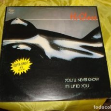 Discos de vinilo: HI-GLOSS. YOU´LL NEVER KNOW / IT´S UP TO YOU. MAXI-SINGLE. PRELUDE, 1981 (#). Lote 215564656