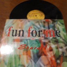 Discos de vinilo: SHARON – FUN FOR ME- MAX MUSIC – NM1375MX-LP-ESPAÑA-1996-. Lote 215571877