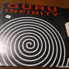 Discos de vinilo: GURU – INFINITY '95 (REMIX)-ESPAÑA-1995-. Lote 215574171