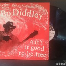 Discos de vinilo: BO DIDDLEY AIN'T IT GOOD TO BE FREE LPM FRANCIA 1984 PEPETO TOP. Lote 215575546