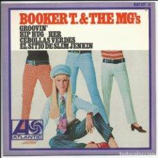 Disques de vinyle: BOOKER T & THE MG'S – GROOVIN' ATLANTIC – HAT 427 11, HISPAVOX – HAT 427-11 1967 DE ARCHIVO MINT. Lote 215591987