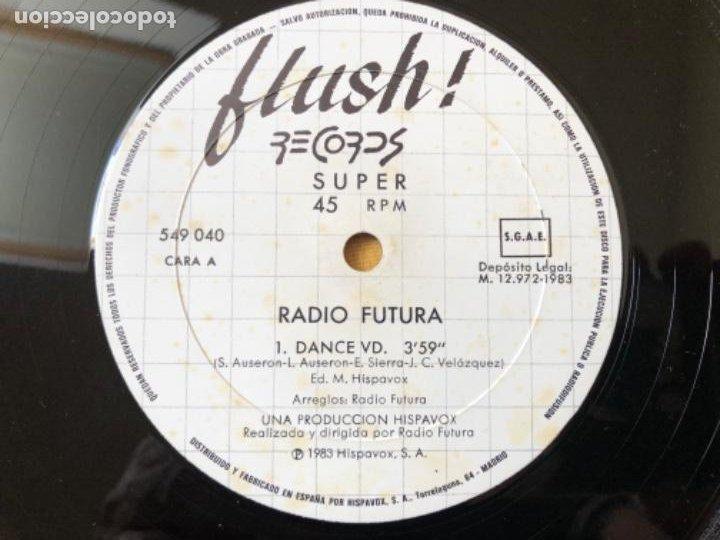 Discos de vinilo: RADIO FUTURA- DANCE VD MAXI - Foto 5 - 215614385