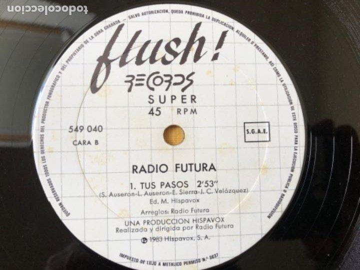 Discos de vinilo: RADIO FUTURA- DANCE VD MAXI - Foto 6 - 215614385