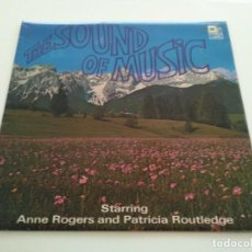 Discos de vinilo: ANNE ROGERS AND PATRICIA ROUTLEDGE - THE SOUND OF MUSIC (LP, ALBUM, SLE). Lote 215630093