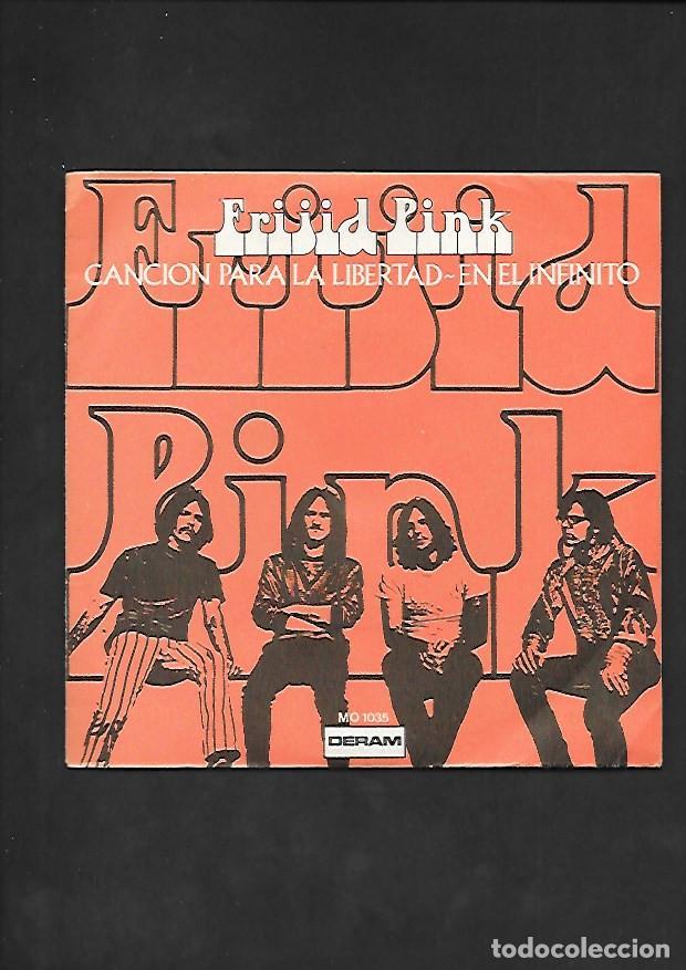 FRIJID PINK CANCION PARA LA LIBERTAD, DERAM MO 1035 (Música - Discos - Singles Vinilo - Pop - Rock - Internacional de los 70)