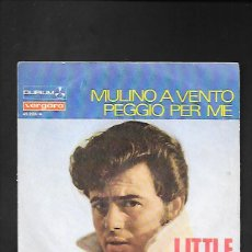 Discos de vinilo: LITTLE TONY MULINO A VENTO, DURIUM VERGARA 45.223 - A. Lote 215652297