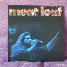 Discos de vinilo: MEAT LOAF – LIVE (LP). Lote 215653006