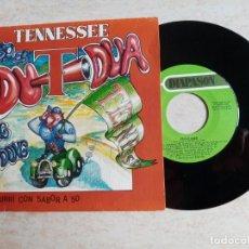Discos de vinilo: TENNESSEE .ESTO ES DU DUA DING DONG.SINGLE 1987 DIAPASON ETC... Lote 215653432