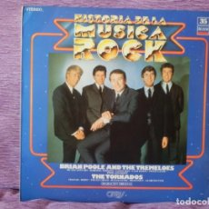 Discos de vinilo: BRIAN POOLE AND THE TREMELOES - THE TORNADOS - HISTORIA DE LA MUSICA ROCK Nº 35 (LP). Lote 215654031