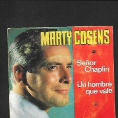 Discos de vinilo: MARTY COSENS SEÑOR CHAPLIN, BELTER 07 - 325. Lote 215656627