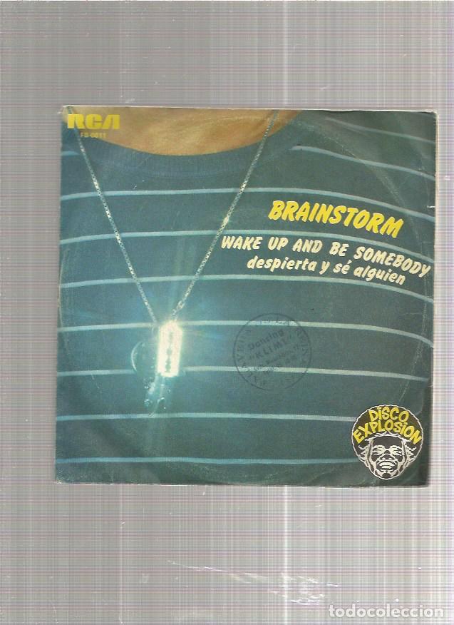 BRAINSTORM WAKE UP (Música - Discos - Singles Vinilo - Pop - Rock - Extranjero de los 70)