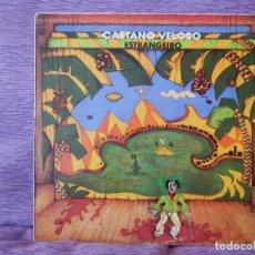 Discos de vinilo: CAETANO VELOSO – ESTRANGEIRO (LP). Lote 215661570