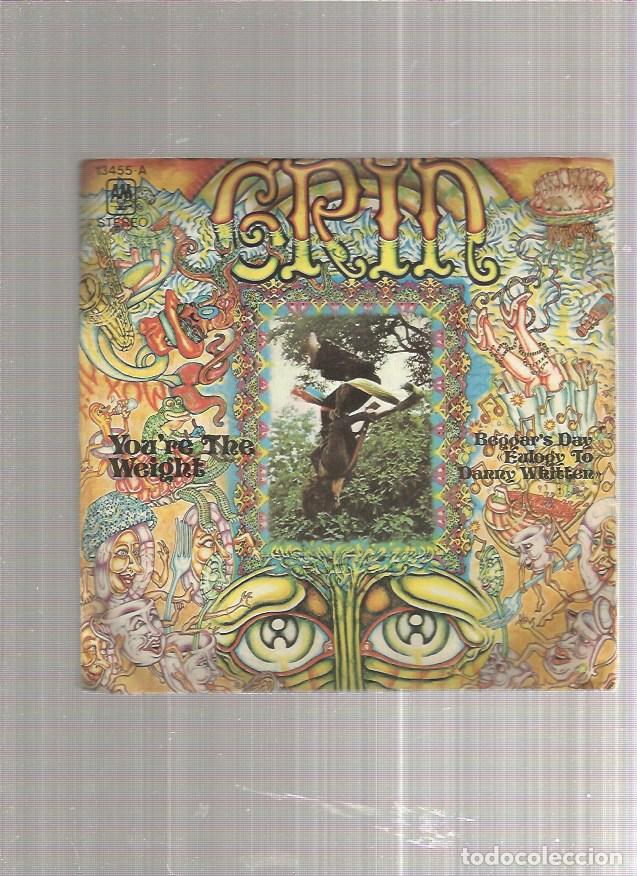 GRIN YOU THE WEIGHT (Música - Discos - Singles Vinilo - Pop - Rock - Extranjero de los 70)
