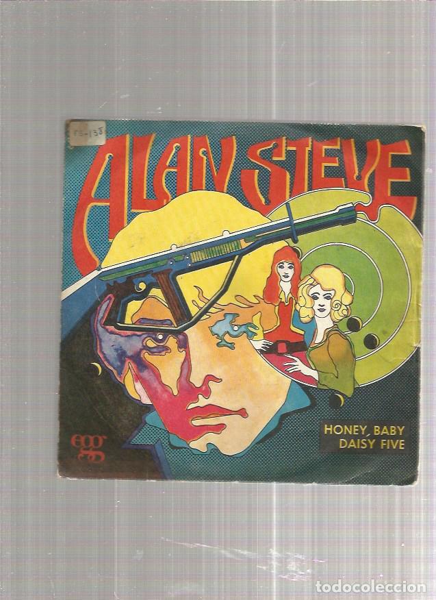 ALAN STEVE HONEY BABY (Música - Discos - Singles Vinilo - Pop - Rock - Extranjero de los 70)