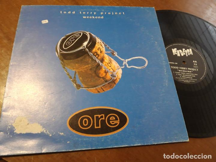 TODD TERRY PROJECT* – WEEKEND-ESPAÑA-1995- VENDETTA RECORDS – VENMX 08-LP- (Música - Discos - LP Vinilo - Techno, Trance y House)