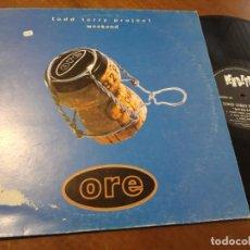 Discos de vinilo: TODD TERRY PROJECT* – WEEKEND-ESPAÑA-1995- VENDETTA RECORDS – VENMX 08-LP-. Lote 215665841