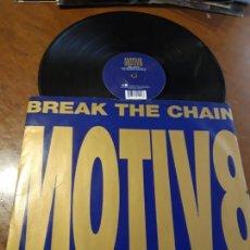 Disques de vinyle: MOTIV 8 – BREAK THE CHAIN- WEA – WEA 010 T,-LP-UK-1995-. Lote 215666761