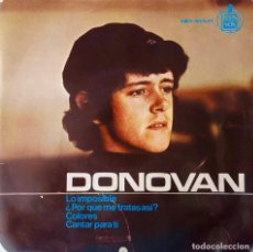 Discos de vinilo: DONOVAN . LO IMPOSIBLE + 3. EP ESPAÑA. Lote 215667426