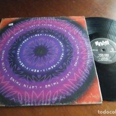 Discos de vinilo: LATIN THING – LATIN THING (REMIX)-ESPAÑA-1996- VENDETTA RECORDS – VENMX 18 R-LP-. Lote 215667803