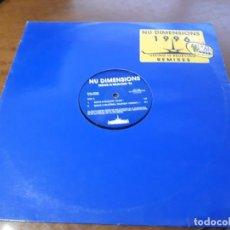 "Discos de vinilo: NU DIMENSIONS ?– SEEING IS BELIEVING '96- STEALTH RECORDS ?– STR 11496-12"", 33 ? RPM-HOLANDA-1996-. Lote 215670582"
