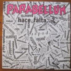 Discos de vinilo: PARABELLUM- HACE FALTA ? LP. Lote 215671360