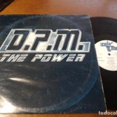 Discos de vinilo: D.P.M.* ?– THE POWER- LUCAS RECORDS ?– LSMX 184-ESPAÑA-1995-MAXI-. Lote 215671597
