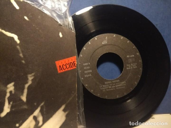 Discos de vinilo: EP LA DECIMA VICTIMA : EL VACIO ( CUBIERTA DETERIORADA, SONIDO EXCELENTE ) - Foto 2 - 215672345