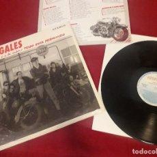 Discos de vinilo: LP ILEGALES TODO ESTÁ PERMITIDO - PUNK ROCK - EXCELENTE ESTADO. Lote 190089038