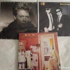 Discos de vinilo: LP TRES VINILOS BRYAN ADAMS . BLUES BROTHERS. Lote 215679721