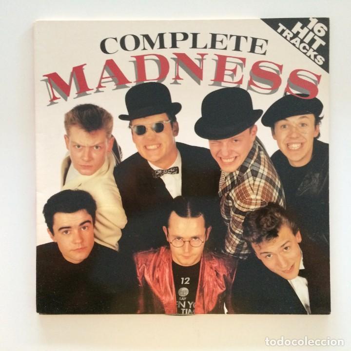 MADNESS – COMPLETE MADNESS SCANDINAVIA 1982 (Música - Discos - LP Vinilo - Reggae - Ska)