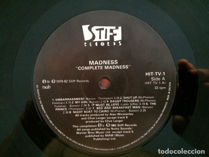 Discos de vinilo: Madness – Complete Madness Scandinavia 1982 - Foto 4 - 215697180