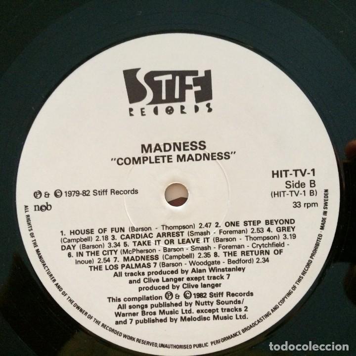 Discos de vinilo: Madness – Complete Madness Scandinavia 1982 - Foto 5 - 215697180