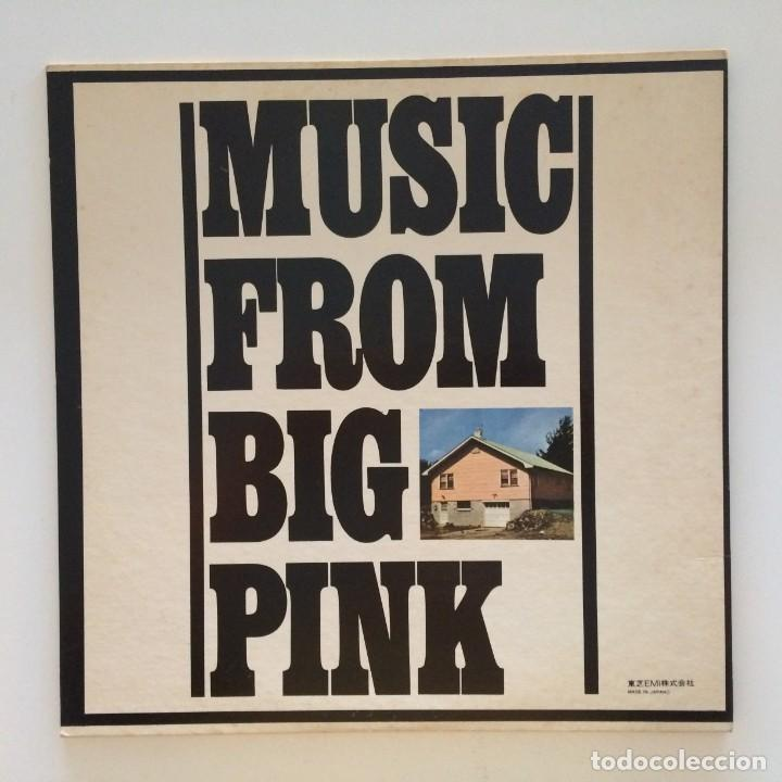 Discos de vinilo: The Band – Music From Big Pink Japan CAPITOL RECORDS - Foto 2 - 215710436