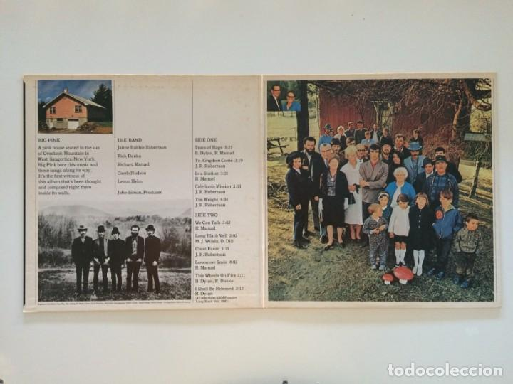 Discos de vinilo: The Band – Music From Big Pink Japan CAPITOL RECORDS - Foto 3 - 215710436