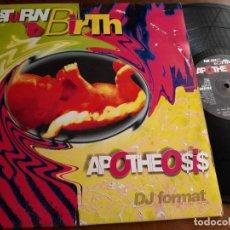 "Discos de vinilo: APOTHEO$I$* – RETURN TO BIRTH- INDISC – 2101107-BELGICA-1994-12"", 33 ⅓ RPM. Lote 215711145"