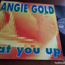 Discos de vinilo: ANGIE GOLD – EAT YOU UP / BREATHLESS- RCA – 74321 25751 1-ESPAÑA-1994-. Lote 215711681