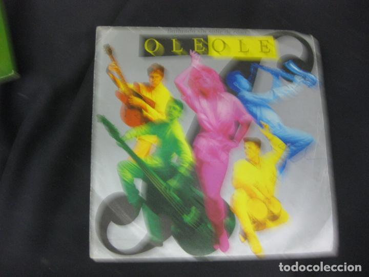 OLE OLE. BAILANDO SIN SALIR DE CASA. SINGLE HISPAVOX 1986. (Música - Discos - Singles Vinilo - Grupos Españoles de los 70 y 80)