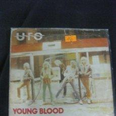 Discos de vinilo: UFO. YOUNG BLOOD. SINGLE CHRISALIS 1980. HEAVY.. Lote 215712297