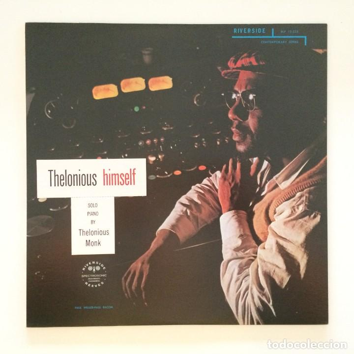 THELONIOUS MONK – THELONIOUS HIMSELF JAPAN 1984 RIVERSIDE RECORDS (Música - Discos - LP Vinilo - Jazz, Jazz-Rock, Blues y R&B)
