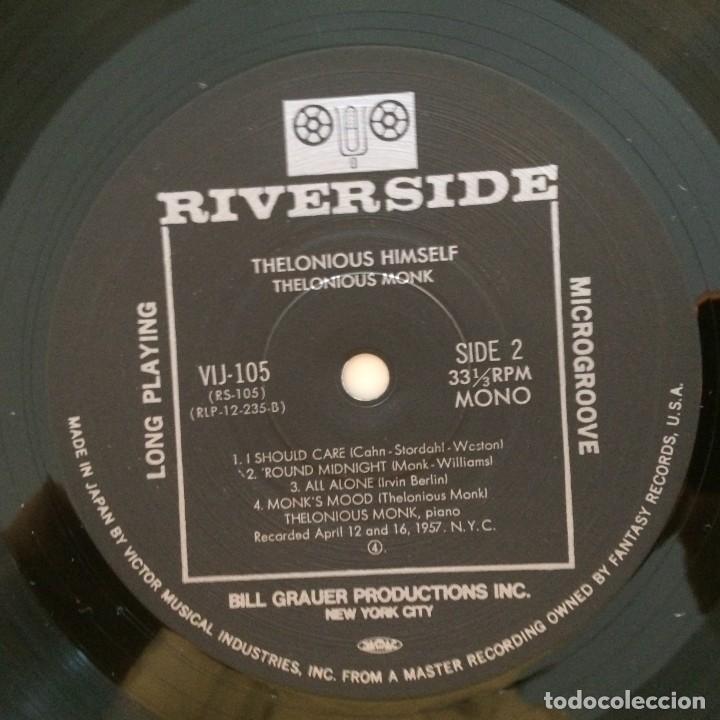 Discos de vinilo: Thelonious Monk – Thelonious Himself Japan 1984 RIVERSIDE RECORDS - Foto 5 - 215723863