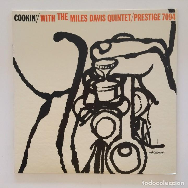 THE MILES DAVIS QUINTET – COOKIN' WITH THE MILES DAVIS QUINTET JAPAN 1976 PRESTIGE (Música - Discos - LP Vinilo - Jazz, Jazz-Rock, Blues y R&B)