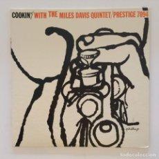 Discos de vinilo: THE MILES DAVIS QUINTET – COOKIN' WITH THE MILES DAVIS QUINTET JAPAN 1976 PRESTIGE. Lote 215724888