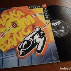 "Disques de vinyle: CHAKA BOOM BANG – TOSSIN' AND TURNIN'- VENDETTA RECORDS – VENMX 17-ESPAÑA-1996-12"", 33 ⅓ RPM. Lote 215726183"